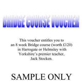 Course vouchers