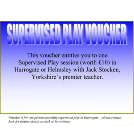 Supervised Play vouchers
