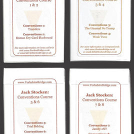 Full set of hand packs – Conventions Course