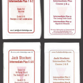 Full set of hand packs – Intermediate Plus Course