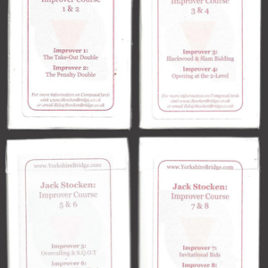 Full set of hand packs – Improver Course