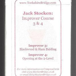 Set hand packs: Improver Course  3 & 4