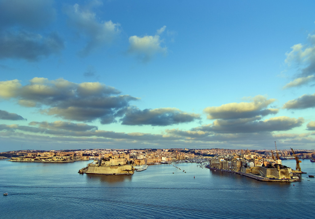 Malta - The Three Cities and the Grand Harbour by Clive Vella